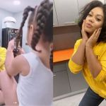 Nadia Buari Posts The Stunning Photos She Posed For Her 3-year-old Daughter To Captured On Instagram