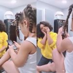 Video Of Nadia Buari's Adorable Daughter Teaching Her How To Pose For Photos Is The Cutest Thing On The Internet Now