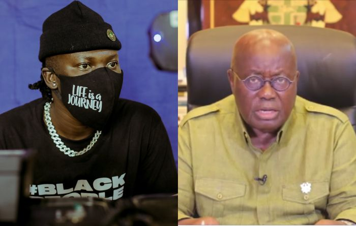 "President Akufo Addo's Attempt To Woo Stonebwoy To Endorse ""4 More 4 Nana"" Backfires"