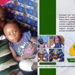 1-year-old baby, Ewuraesi, With A Hole-in-heart Urgently Needs Ghc52,000 For A Surgery To Save Her Life