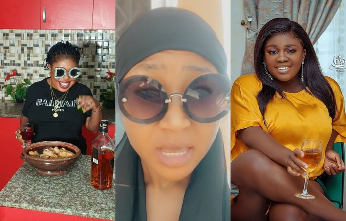AUDIO: Akuapem Poloo Accuses Afia Schwar And Tracey Boakye Of Releasing And Spreading Her Video Online