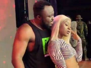 VIDEO: Angry DKB Tells Efia Odo That She's Of No Use To Ghanaian Entertainment Industry In A Heated Argument