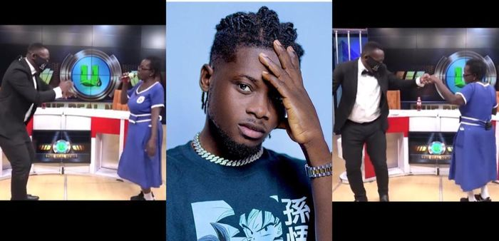 Kuami Eugene Reacts To Viral Video Of Akrobeto And Oldest BECE Candidate Dancing To Open Gate Hit Song