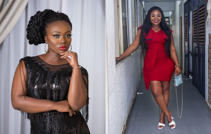 Stacy Amoateng Subtly Responds To Dr. Kwaku Oteng's 'Daughter' - Says She's Not Attracted By Noise