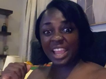 VIDEO: Tracey Boakye, Instead Of Fixing Her Grubby Nails And Crooked Toes, Foolishly Says She Needs An Award For Doing Absolutely Nothing