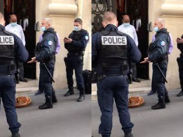 VIDEO: France Police Shocked After Finding A Calabash Of Sacrifice For The gods At The Nigerian Embassy In France