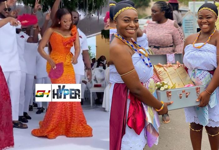 The Despites Are At It Again - Check Out More Videos From Lavish Marriage Ceremony Of Dr Ofori Sarpong's Daughter, Cindy