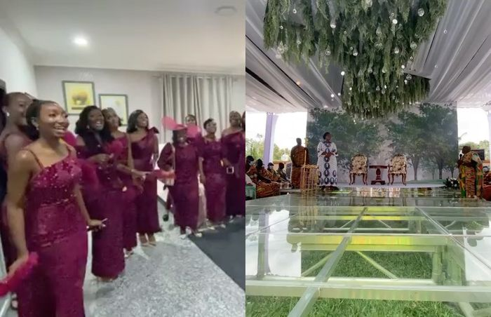 #Ciri2020: Here Are Videos From Extravagant Marriage Ceremony Of Dr Ofori Sarpong's Daughter