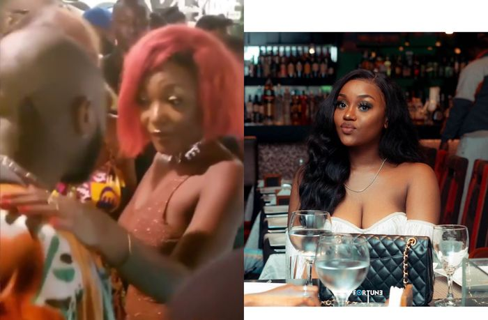 Chioma Won't Be Happy About This Video Of Davido Having Fun With Efya In A Nightclub