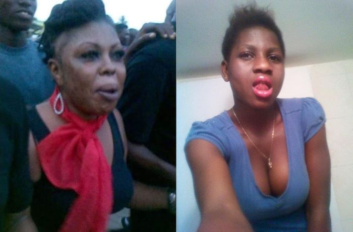 PHOTOS: The Dim-witted Lady Who Said Selly Galley Is Ugly And Barren Is Even Uglier Than Afia Schwarzenegger