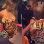 VIDEOS: Davido Was All Over A Ghanaian Slay Queen In The Nightclub Last Night And He Couldn't Take His Eyes Off Her