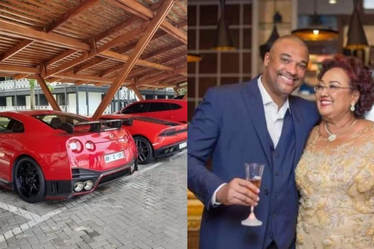 Check Out The Expensive Customized Sports Cars Owned By The Late Businessman, Ato Mould