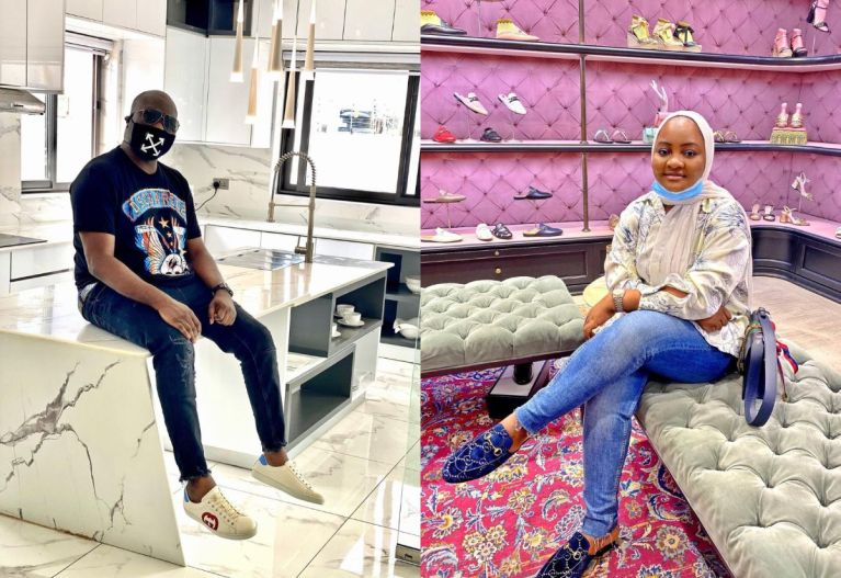 Socialite, Mompha, Celebrates His Wife On Her 26th Birthday With A Touching Message