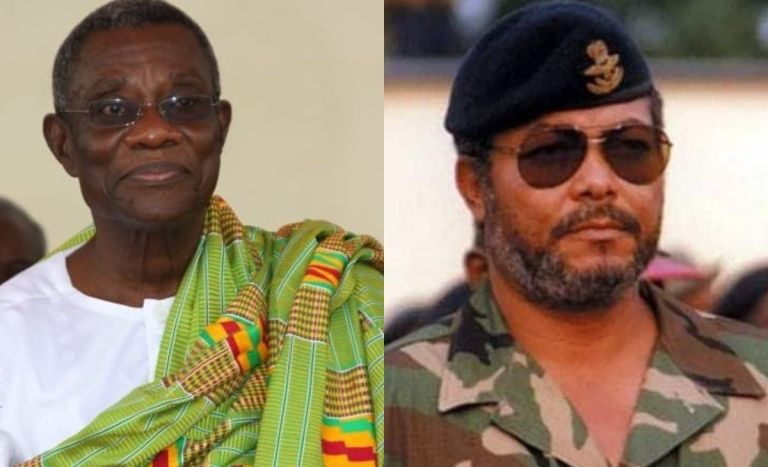 VIDEOS: Young Lady From Volta Claims Atta Mills' Ghost Has Sent Her To Resurrect Jerry Rawlings