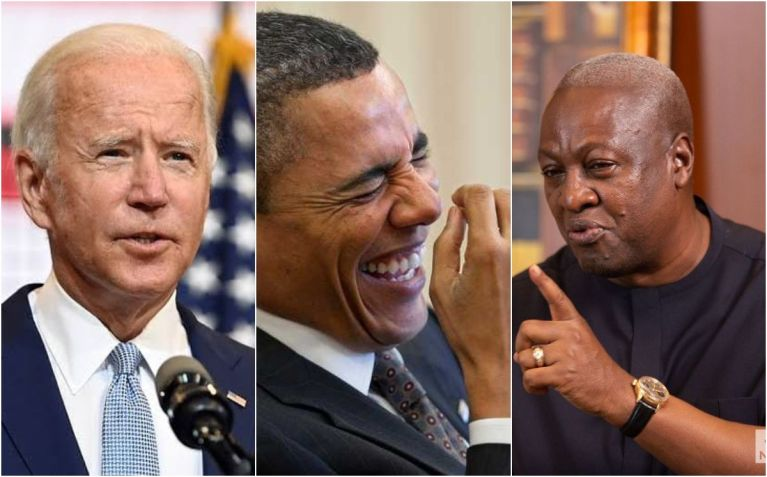 Ghanaian Man Says John Mahama Is Looking Forward To Working With Joe Biden As A Visa Connection Agent