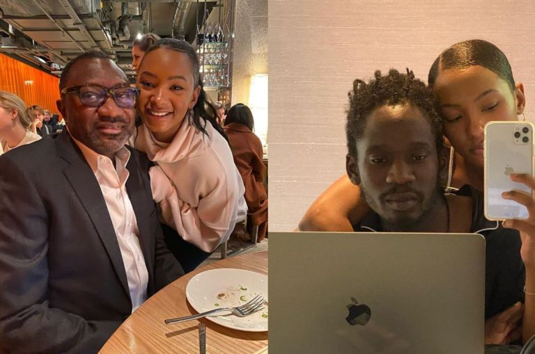 Pressure Grabs Mr Eazi As Rich Man Femi Otedola Asks His Daughter, Temi, When She's Getting Married