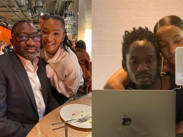 Pressure Grabs Mr Eazi As Rich Man Femi Otedola Asks His Daughter, Temi, When She's Getting Married