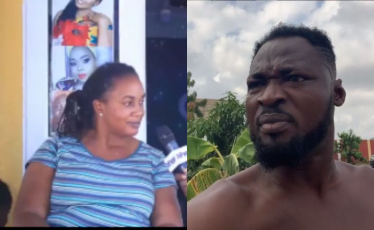 """Audio Of Funny Face Insulting His Baby Mama's Mom That """"Ne Tw3"""" Drops"""