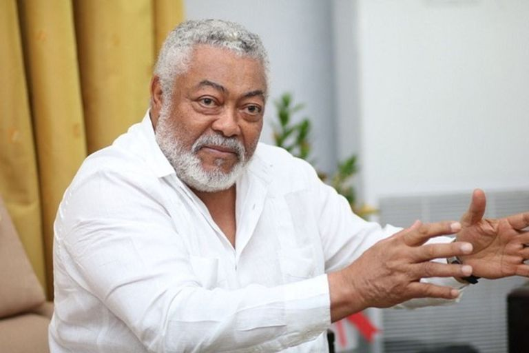 CONFIRMED: Former Jerry John Rawlings Died Of COVID-19