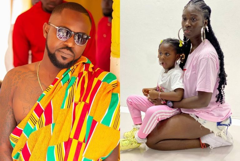 PHOTOS: Rapper Ponobiom Flaunts His Beautiful Wife And Adorable Daughter