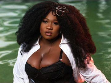 Sista Afia Shows Cleavage In New Photos To Celebrate Her 28th Birthday