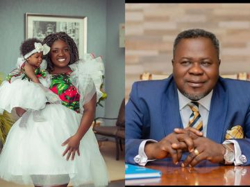 VIDEO: As Expected, Tracey Boakye Has Reacted To Rumours That Dr Kwaku Oteng Fathered Her Baby