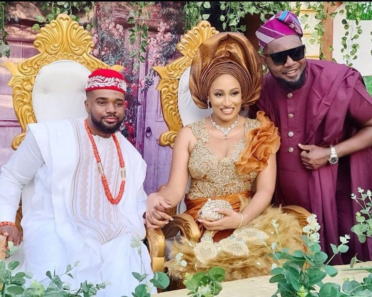 Check Out Beautiful Traditional Marriage Photos Of Actor Williams Uchemba And Wife