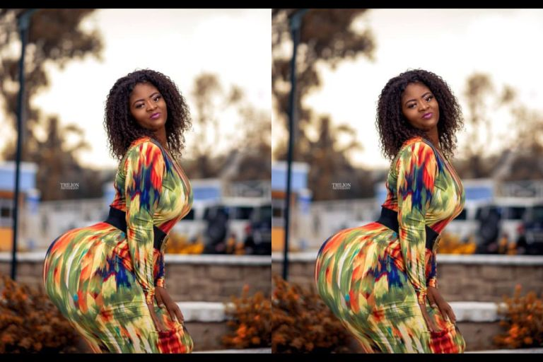 The Battle Of Big Butts: Another Ghanaian Slay Queen With Mountainous Backside Storms Social Media To Unseat Hajia Bintu