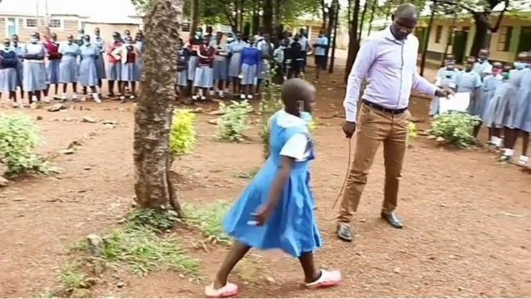 VIDEO: Meet Bridget Bema, The 9-year-old Girl Who Has Gone Viral For Breaking All Her School's Rules