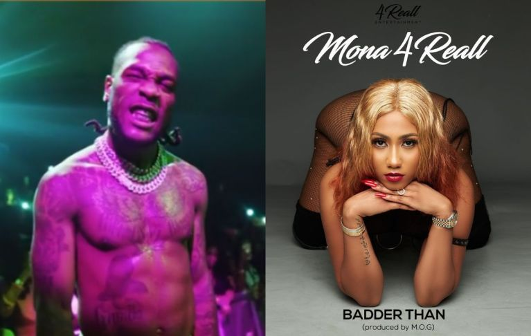 "VIDEOS: Burna Boy Lands In Ghana And Jams To Hajia4Reall's ""Badder Than"" Song At A Nightclub"