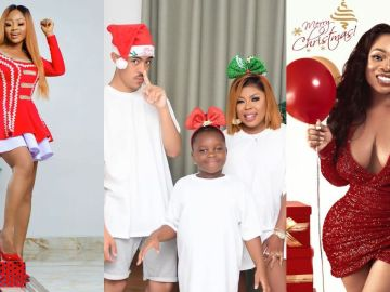 Ghanaian Celebrities Turn Instagram Red With Stunning Christmas Photos