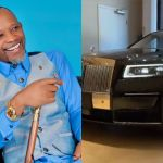 VIDEO: Fada Dickson Wraps Up The Year 2020 With A $450,000 Rolls Royce Ghost