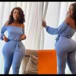 """""""You Get What You Work For Not What You Wish For"""" - Hajia Bintu Says As She Flaunts Her 'Back Asset' In New Photos"""