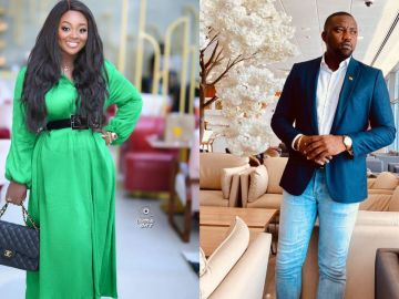 VIDEO: John Dumelo Back On Set With Jackie Appiah To Shoot A New Movie After Losing The Parliamentary Election