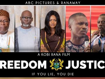 """Actress Kafui Danku's """"Freedom And Justice"""" Movie Banned From Showing In Ghana After Selling 2,154 Tickets"""