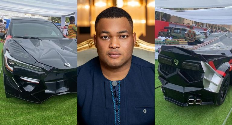 PHOTOS: Kantanka Automobile Unveils Yet Another Sophisticated Sports Car For The Rich
