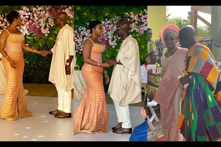 Here Are Photos And Videos From President Akufo-Addo's Executive Secretary, Nana Asante Bediatuo's Lavish Marriage Ceremony With 2nd Wife, Mary Adetola