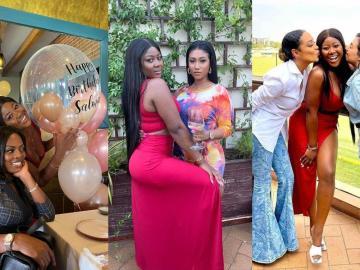 Check Out The Video Of Salma Mumin's Lavish Mini Birthday Party Graced By Nana Aba, Hajia4Reall And Others