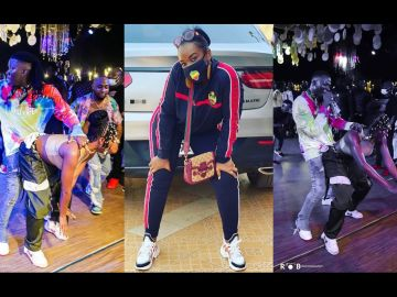PHOTOS: Stonebwoy's Wife Has Probably Banned Doggy Style In Their Bedroom Looking How He Aggressively Bent Efya Down And 'Hammered' Her
