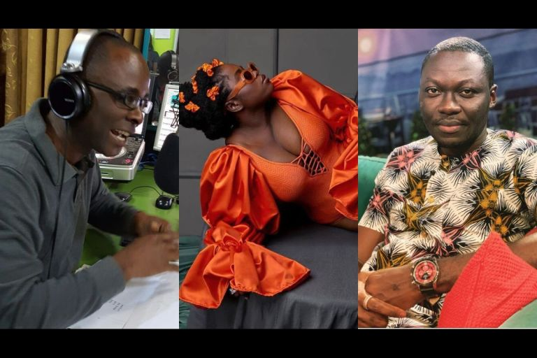 VIDEO: Between Arnold, Socrate Safo And Peace FM's Kwasi Aboagye, Who's In Lydia Forson's DM Begging To 'Eat' Her?