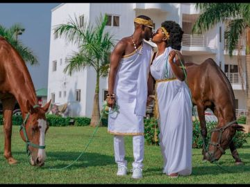 Rapper Okyeame Kwame And Wife, Annica, Celebrate 16 Years Of Marriage