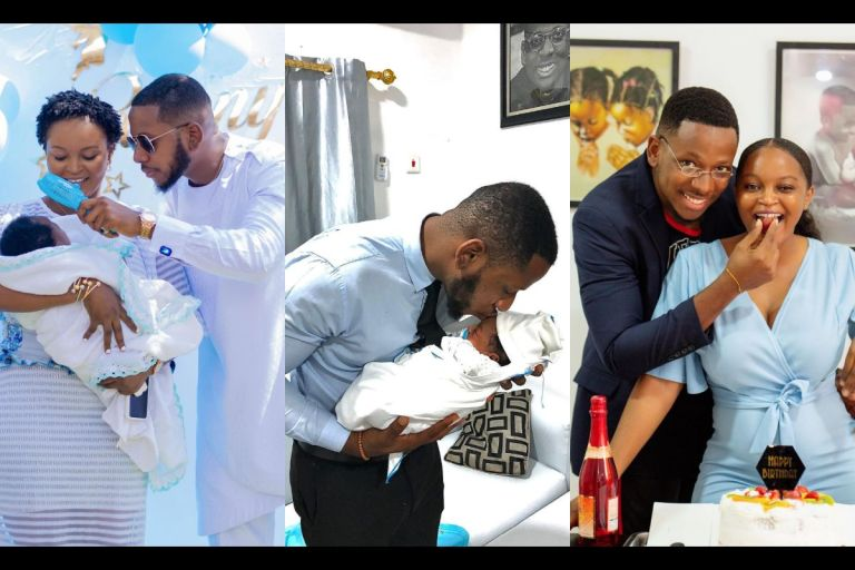 PHOTOS: Failing As Abstinence Ambassador Has Been A Blessing For, Aaron, As His Baby Mama Makes His Birthday A Memorable One
