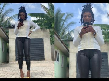 PHOTOS: Mzbel's Prodigal Daughter, iOna, Flaunts Her Cameltoe That's Bigger Than Her Entire Music Career