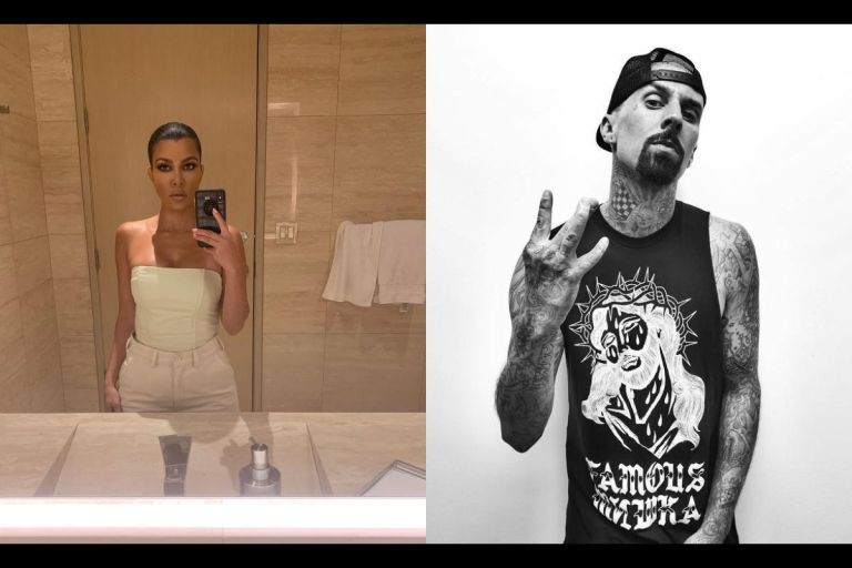 Kourtney Kardashian And Travis Barker Are Currently Dating