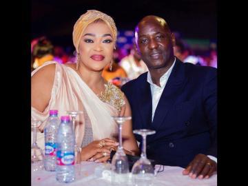 PHOTO: Actress Kalsoume And Husband, Anthony Baffoe, Welcome A Set Of Twins?