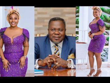 Dr Kwaku Oteng's Proud Concubine, Linda Achiaa, Stuns In New Photos