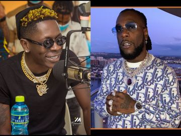 Watch The Interview That 'Angered' Burna Boy To Cut Off Shatta Wale