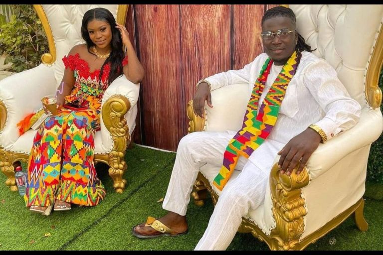 Check Out Photos From Wisa Greid And Fiancée, Annabel's Traditional Wedding