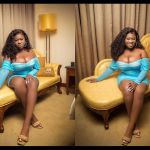 Sista Afia Heaps Her Front Goodies In New Photos To Wish Her Fans The Best Of Luck In The Month Of Love