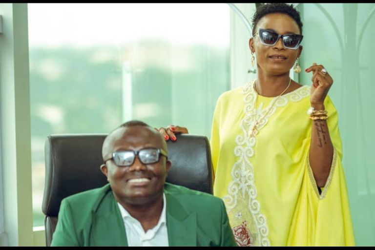 Keche Andrew's Wife, Joana Gyan, Brags That She'll Be Ghana's First Female President With Bola Ray As Her Running-mate